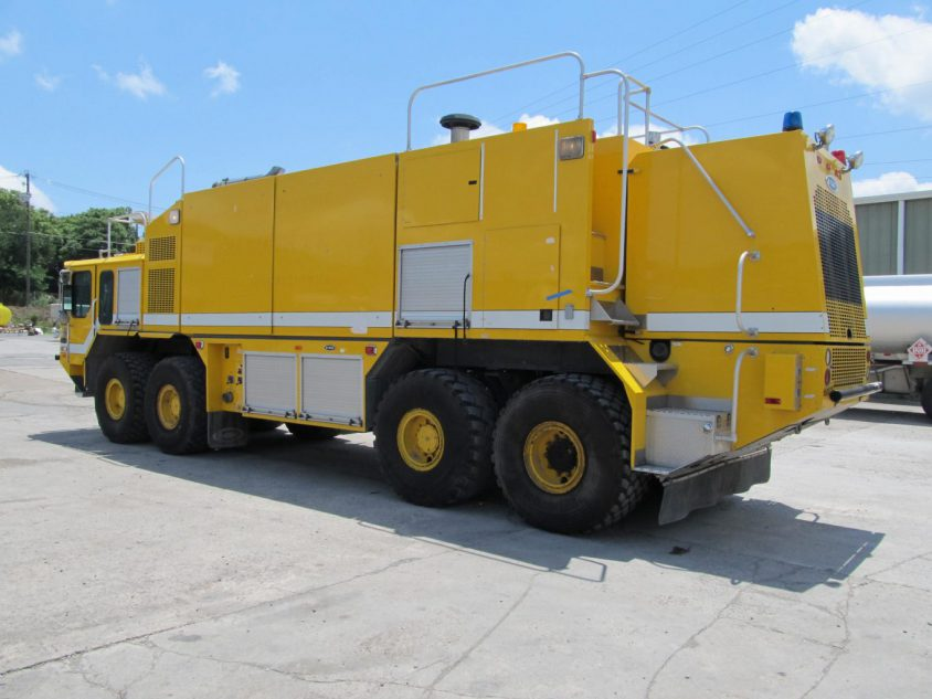 buy used yellow fire truck