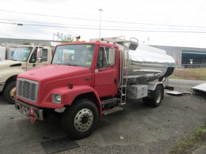 used fuel truck