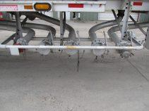 bottom loading on aluminum trailer