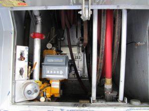 hose reels used fuel truck