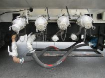 fuel lube oil trucks