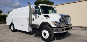 sell waste oil truck