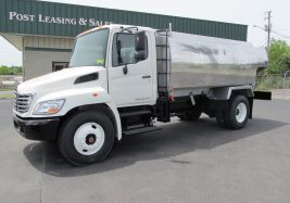 used hino fuel truck