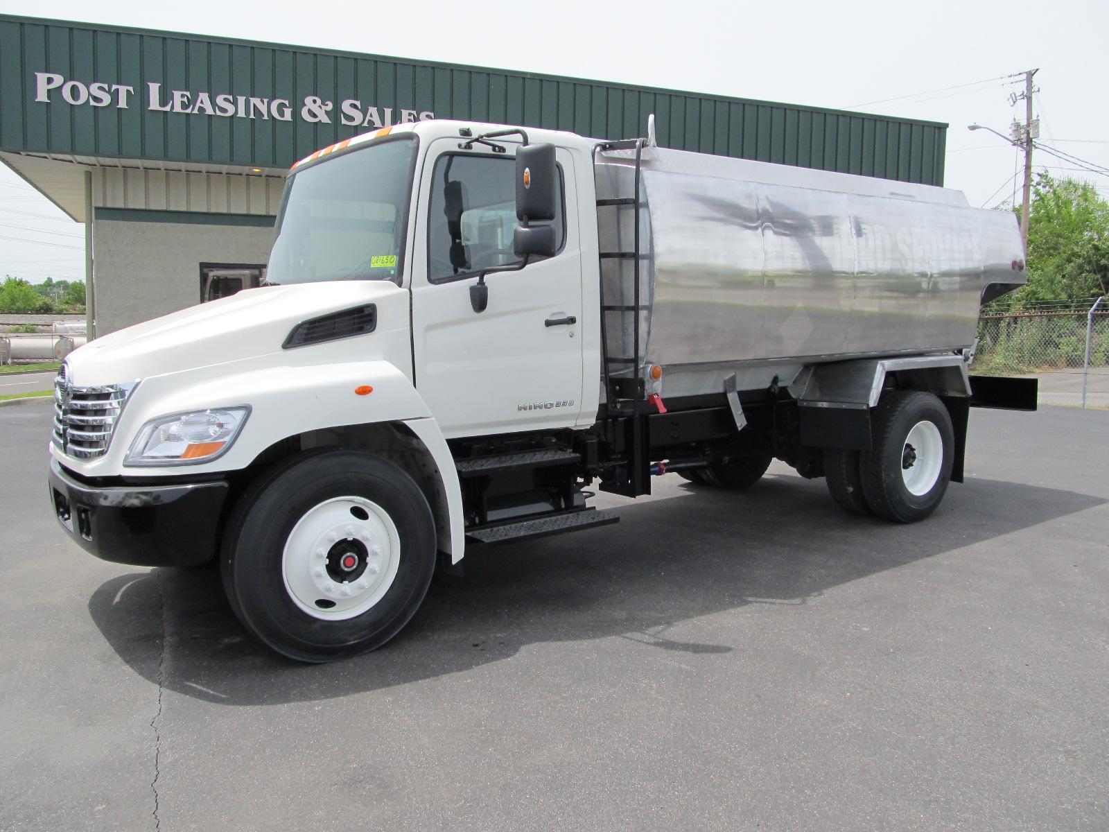 used hino fuel truck