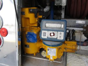 fuel transport truck