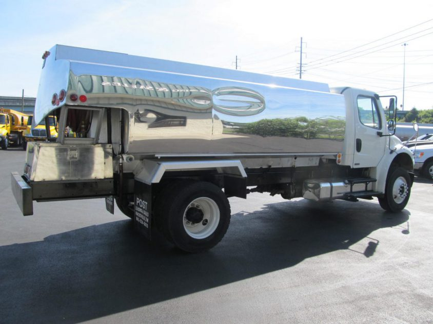 heating oil truck