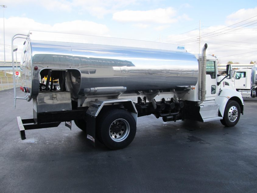 fuel delivery truck