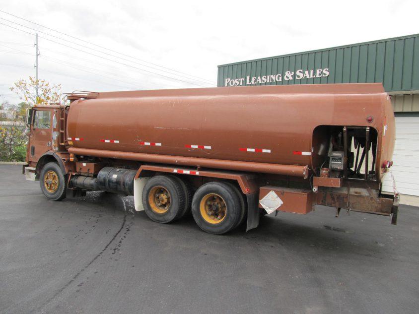 old petroleum tanker