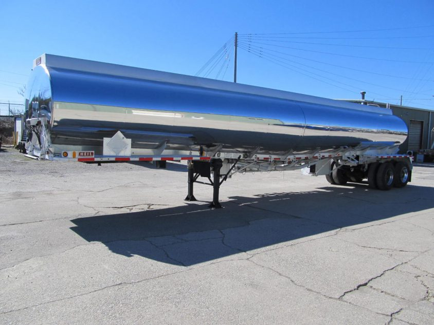 buy aluminum tanker trailer