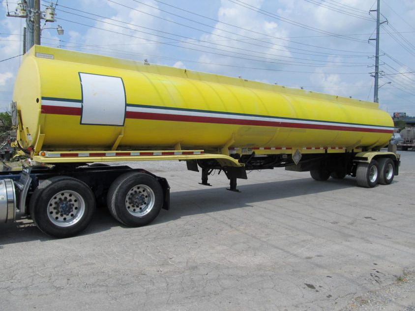 buy used aluminum tanker trailer