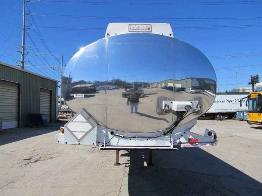 aluminum tanker trailer for sale