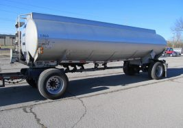 aluminum pup trailer