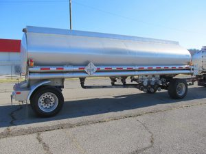 used pup trailer