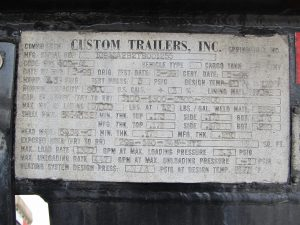 custom trailer for sale VIN
